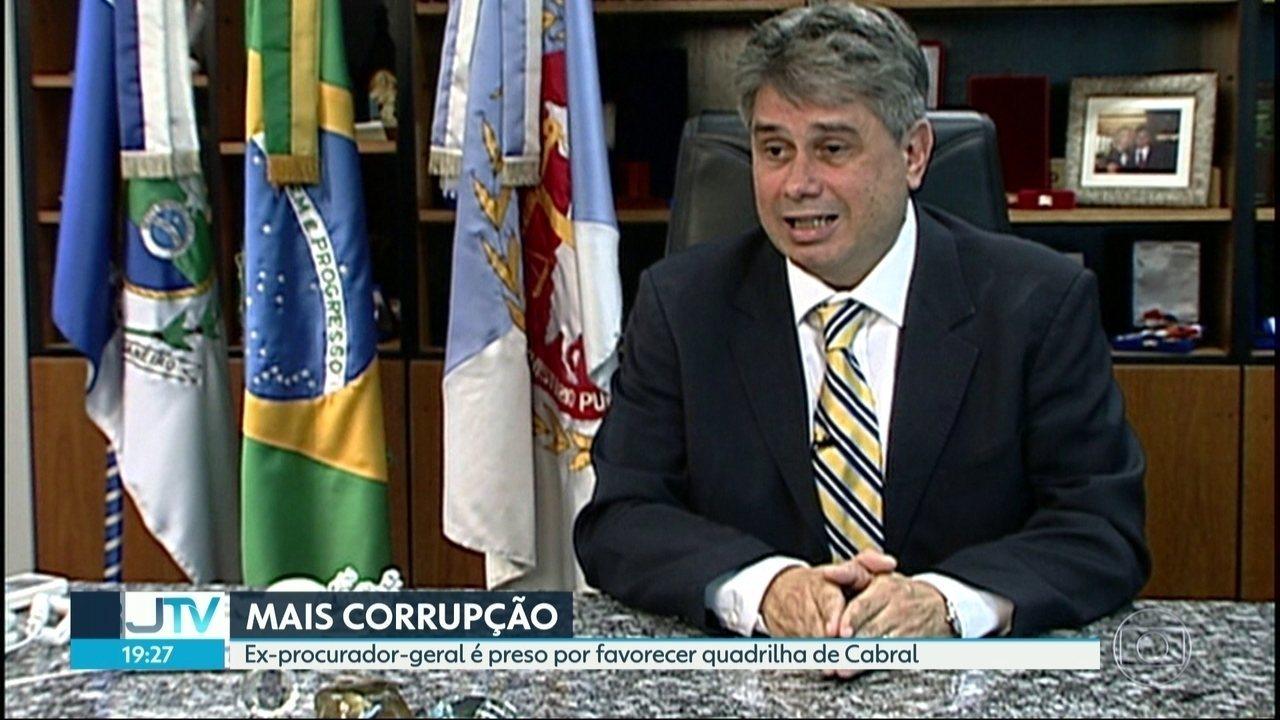 Pela primeira vez, um ex-procurador-geral do Rio é preso por corrupção