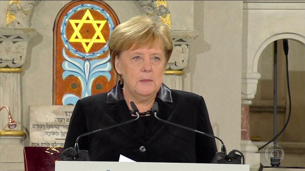 Líderes alertam para aumento do antissemitismo nos 80 anos da Noite dos Cristais