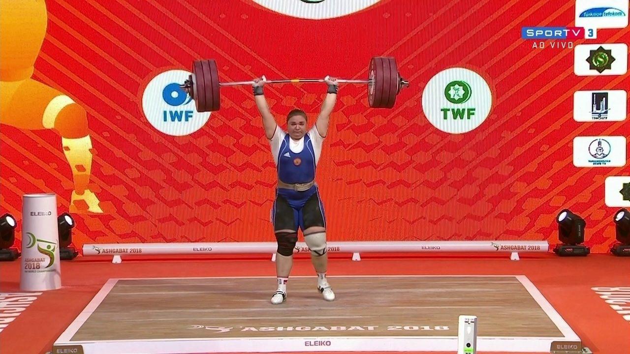 Tatiana Kashira fatura Mundial de Levantamento de peso