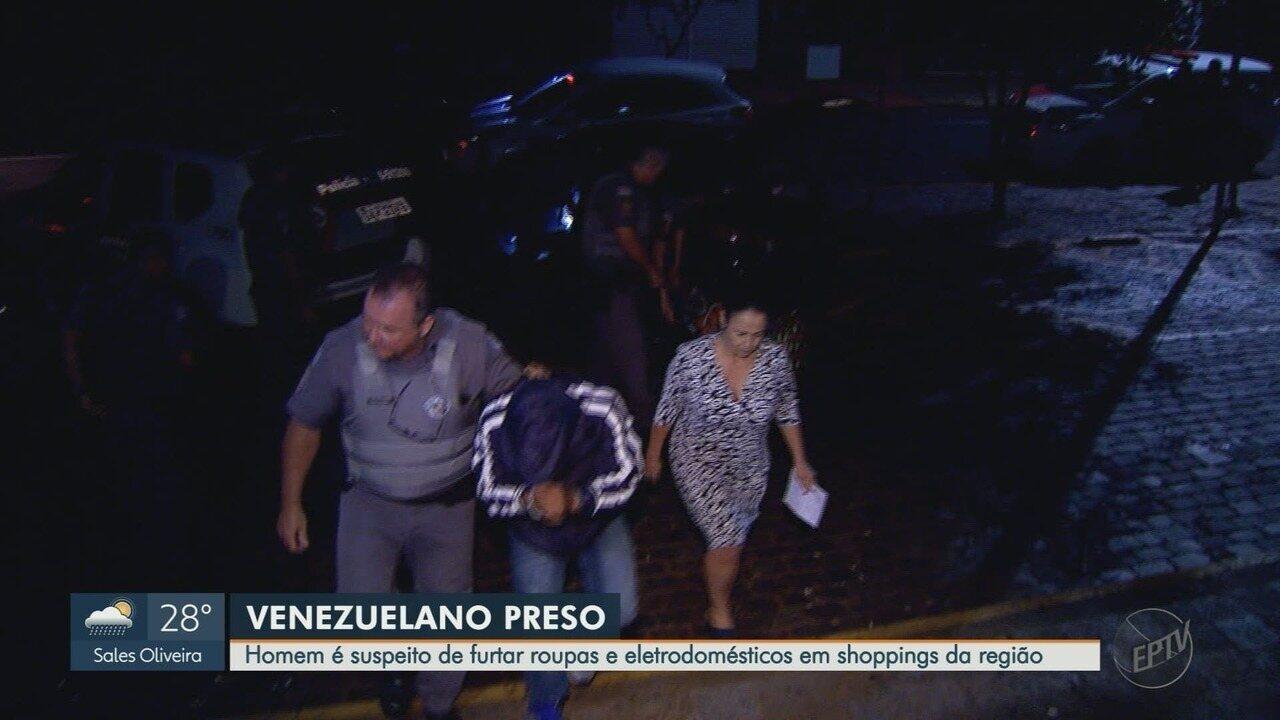 Venezuelano é preso depois de furtar roupas em shopping de Ribeirão Preto, SP