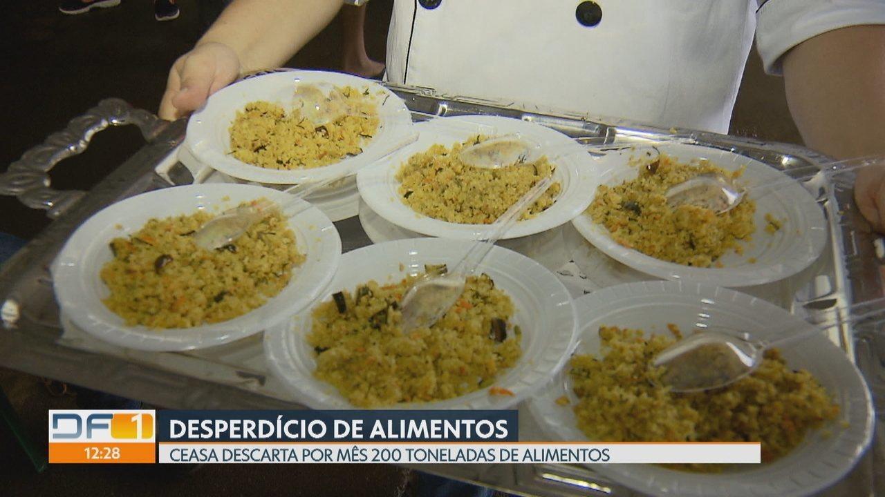 Técnicos da Emater dão dicas de como evitar o desperdício de alimentos