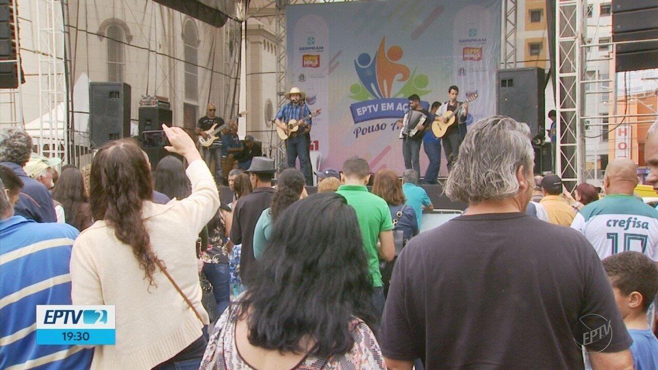 EPTV em Ação reúne cerca de 8 mil pessoas em Pouso Alegre (MG)