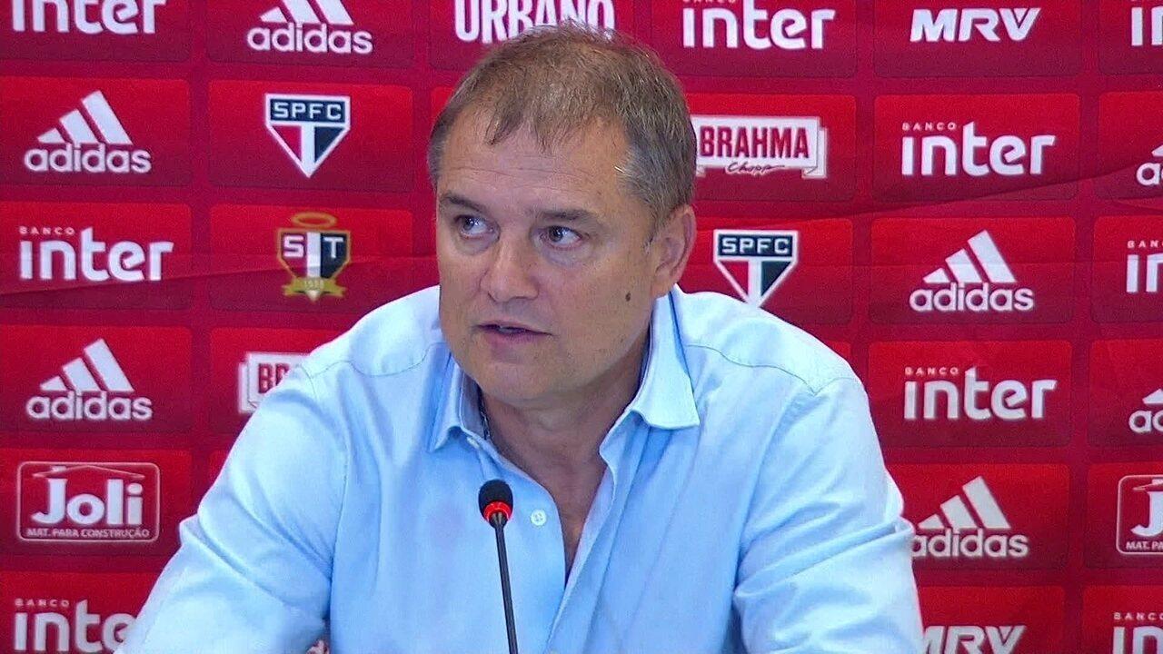 Assista a entrevista coletiva de Aguirre após o empate entre Corinthians e São Paulo