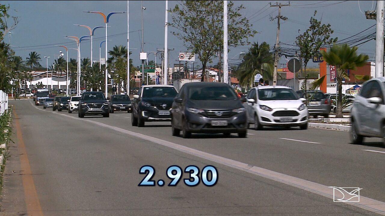 Quase três mil multas foram aplicadas em 2018