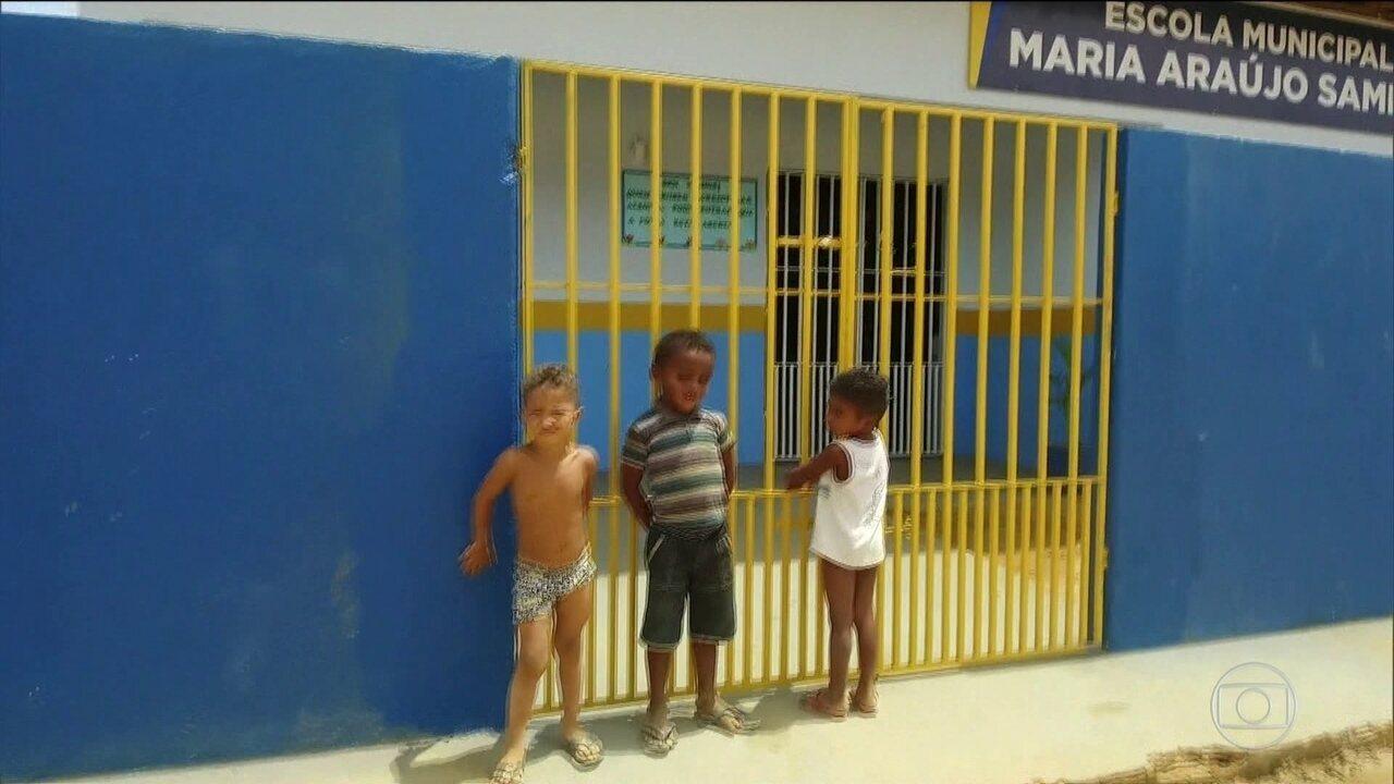 Alunos do interior do Maranhão estão ansiosos para que chegue segunda-feira