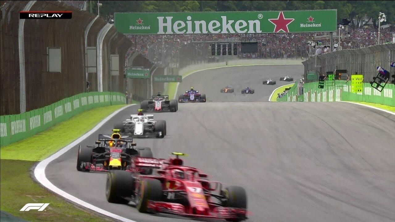 Confira os melhores momentos do Grande Prêmio do Brasil de Fórmula 1