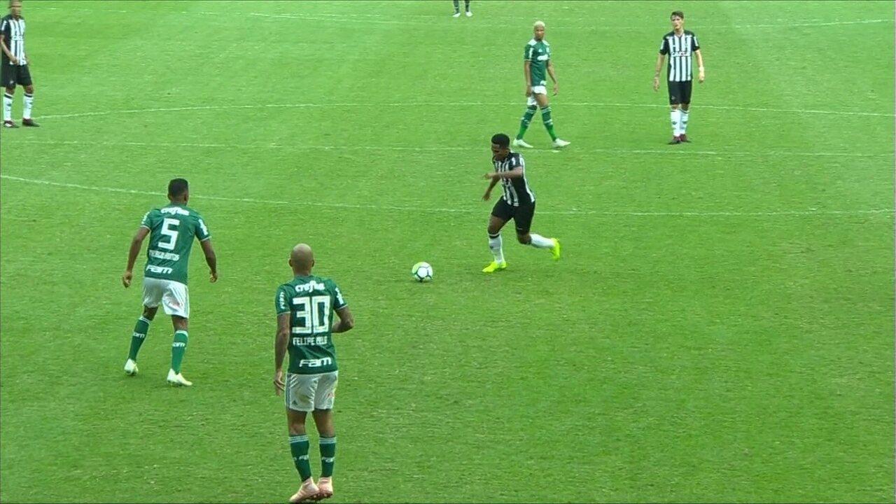 Melhores momentos de Atlético-MG 1 x 1 Palmeiras pela 33ª rodada do Campeonato Brasileiro