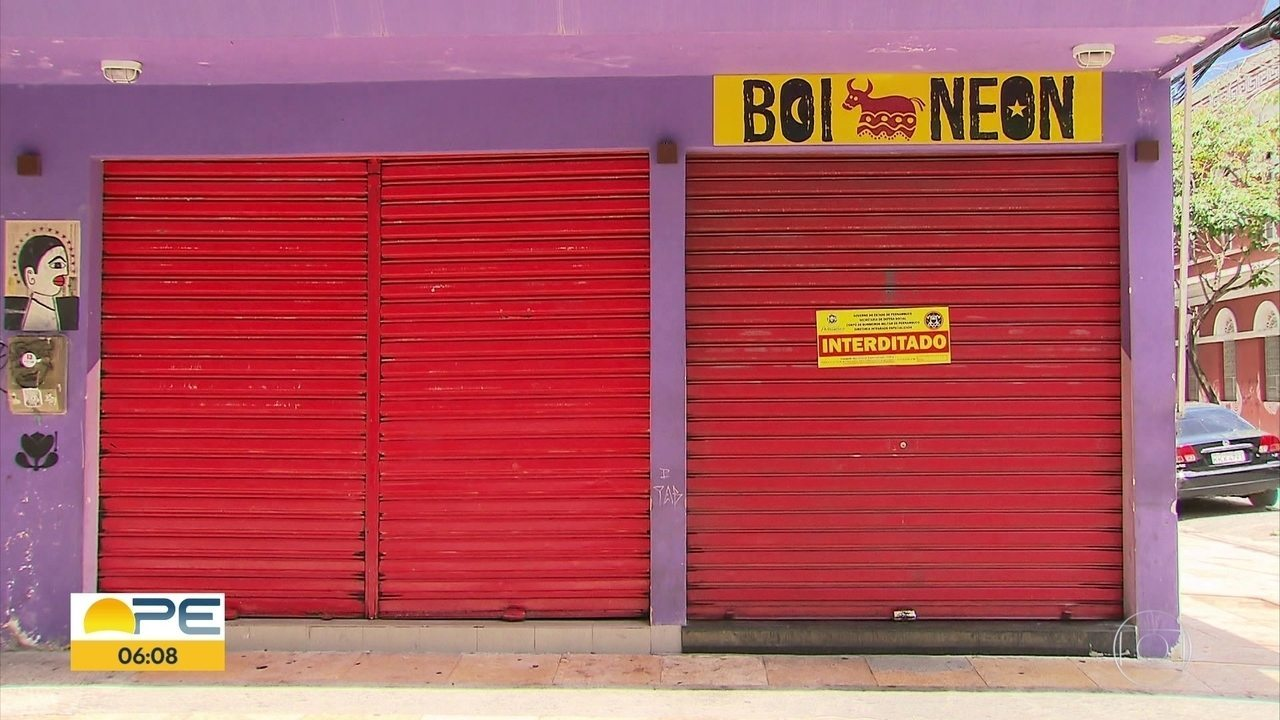 Operação interdita 18 bares em Recife e Olinda por falta de licença dos Bombeiros