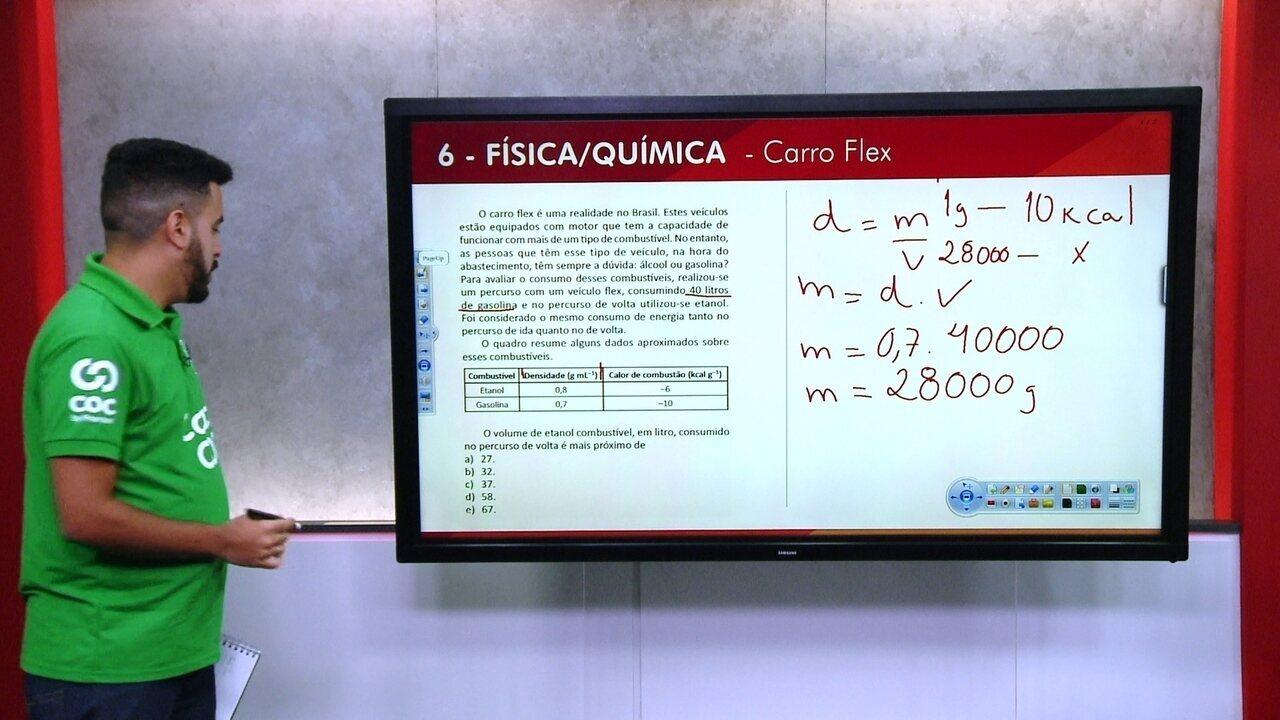G1 TOP 10 Enem: 6 - Física/Química