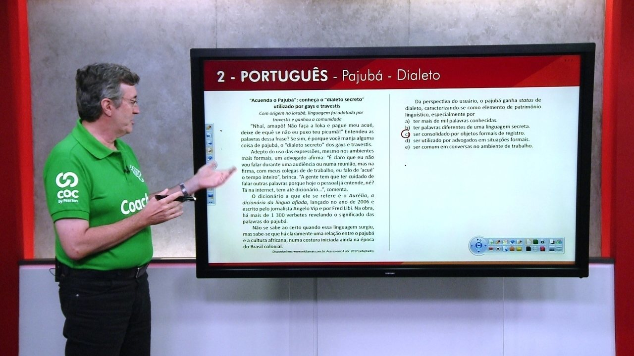 G1 TOP 10 Enem: 2 - Português
