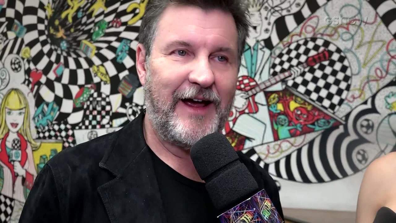 "Antonio Calloni nos bastidores do ""Domingão do Faustão"""