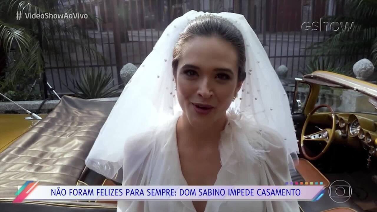 Juliana Paiva lamenta mais um casamento que não aconteceu