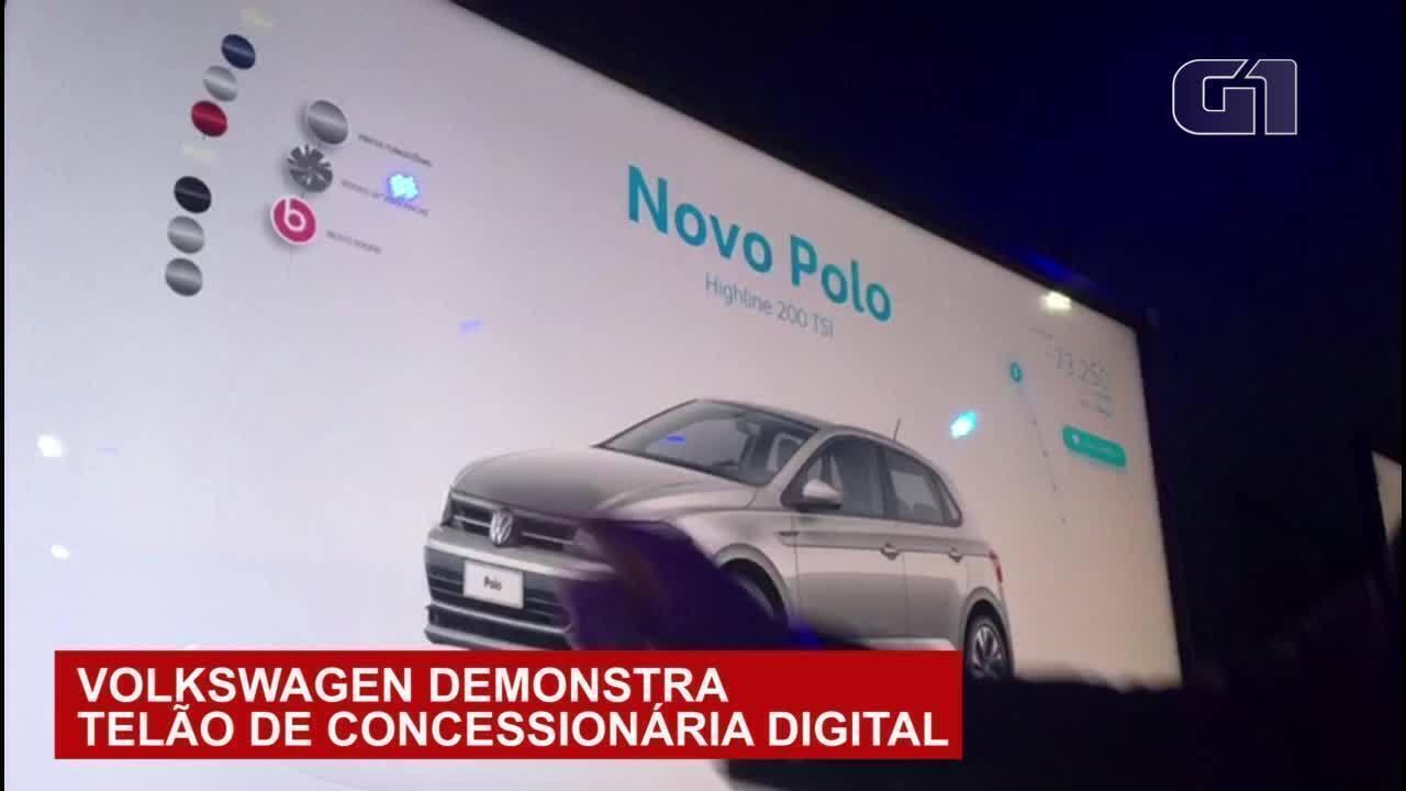 Volkswagen vai usar tecnologia para vender carros além das lojas tradicionais