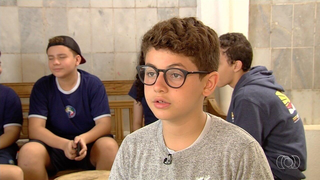 Conheça Victor Hugo Mendes Fernandes, um dos semifinalistas do Novos Talentos Kids