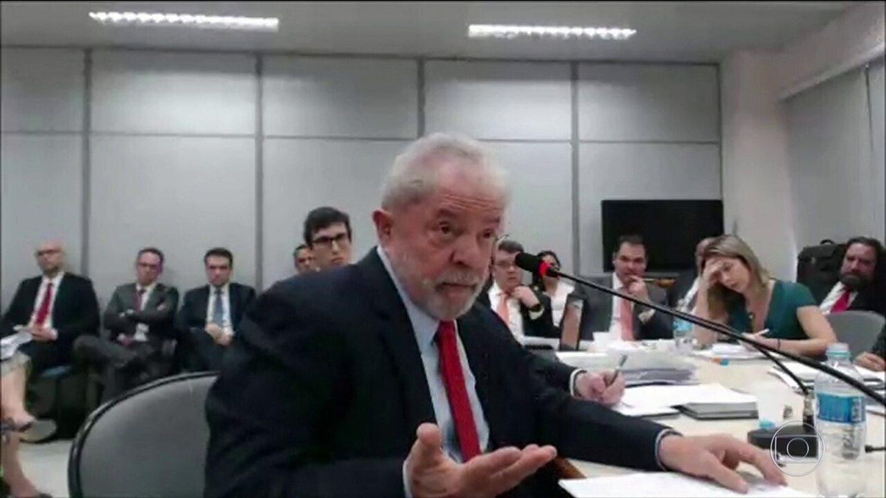 Resultado de imagem para Em interrogatório, Lula diz que não pagou por reformas porque não era dono do sítio em Atibaia