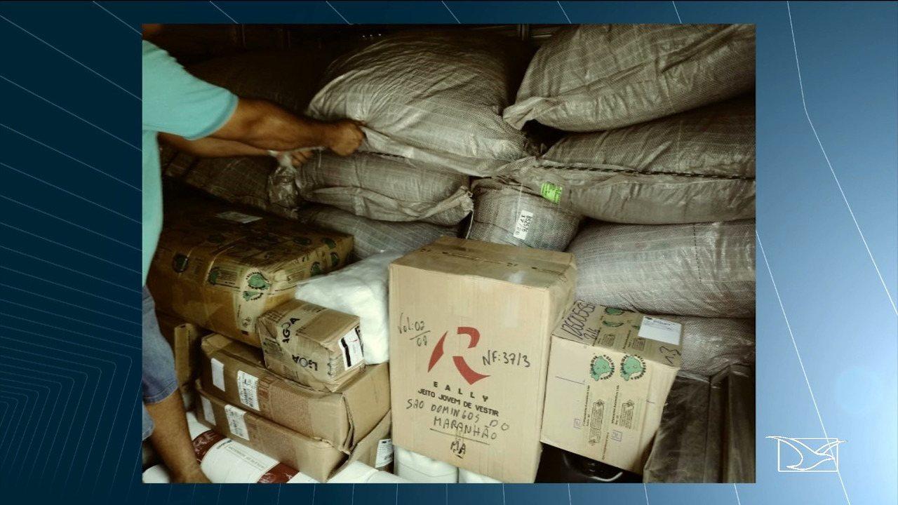 Carregamento de agrotóxicos é apreendido na BR 230, no Maranhão