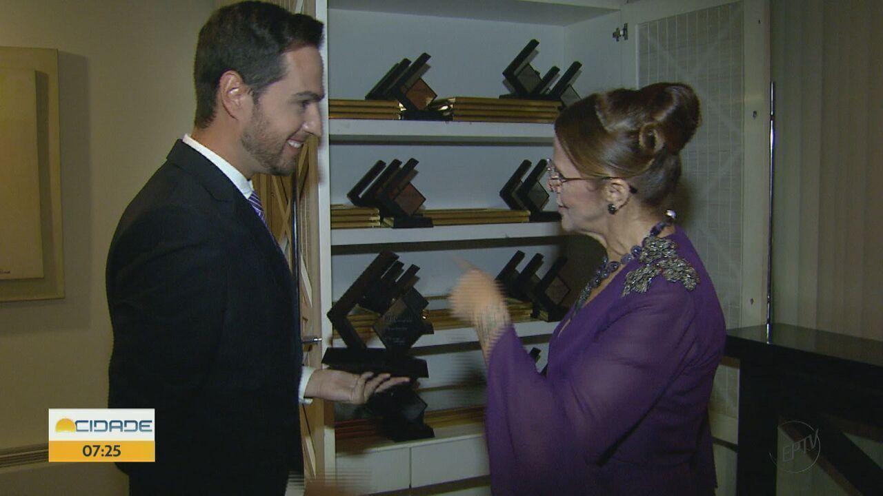 Repórter da EPTV Central é premiado com o Troféu Expressão em Araras