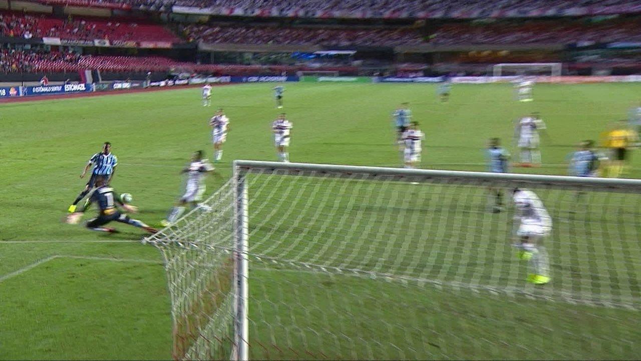 Mejores momentos: Sao Paulo 1 x 1 Gremio en la 34a jornada del Campeonato Brasileño