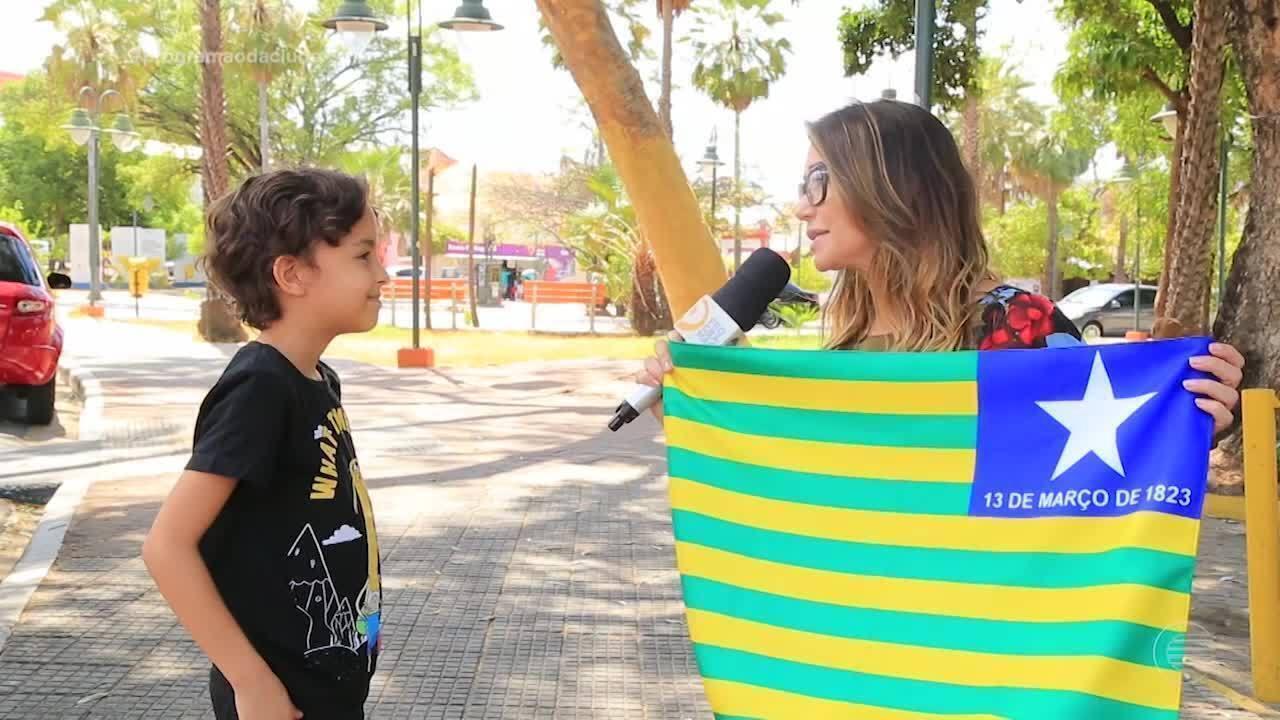 Conheça o significado das cores e formatos das bandeiras do Brasil e Piauí