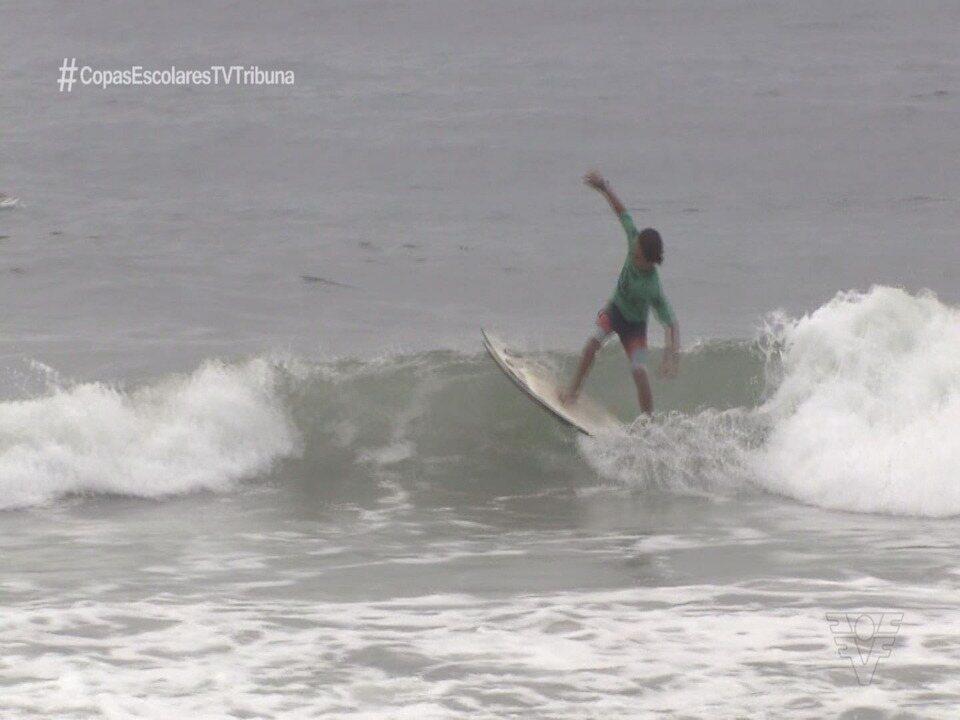 Guarujá recebe a 23ª edição do Circuito A Tribuna de Surf Colegial