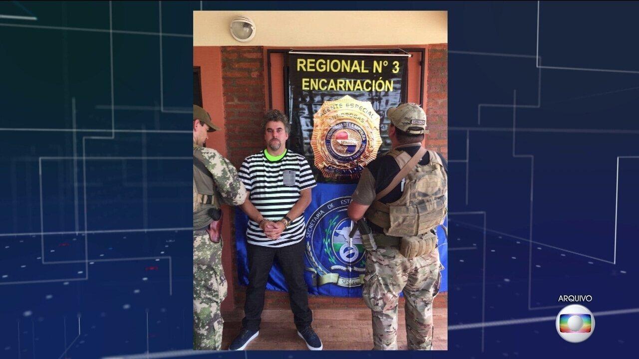 Autoridades do Paraguai dizem o traficante brasileiro matou jovem dentro da penitenciária
