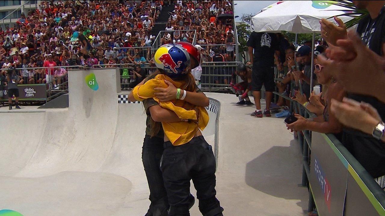Yndiara Asp vence na categorua Park do Circuito Brasileiro de Skate