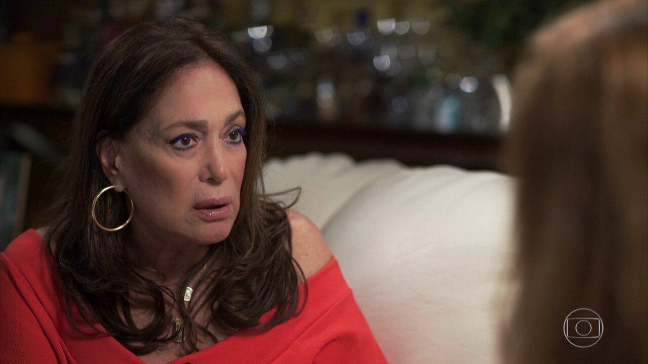'Acho que se a morte chegar, vou esbofeteá-la', diz Susana Vieira sobre leucemia