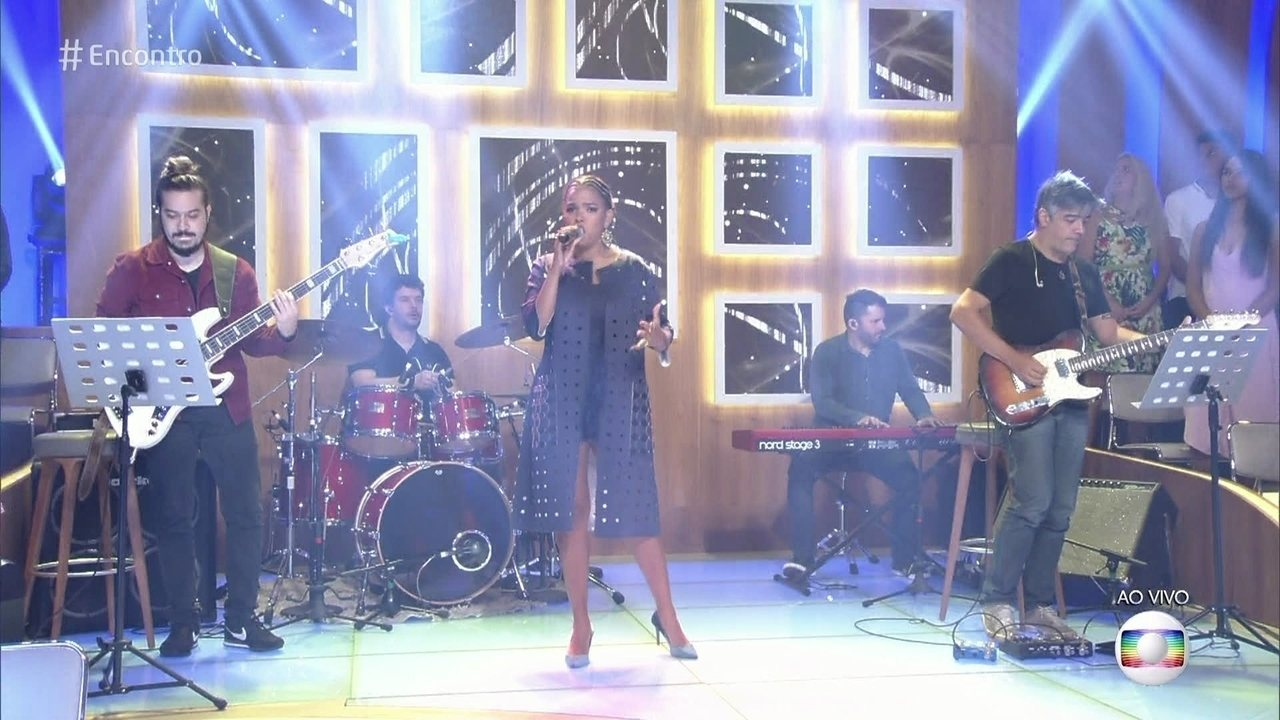 Jeniffer Nascimento canta ´I Have Nothing´ no Encontro