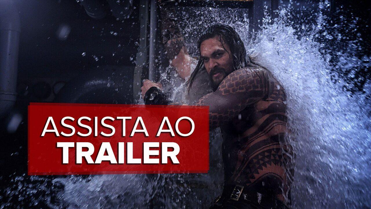 'Aquaman' ganha trailer final antes da estreia em dezembro