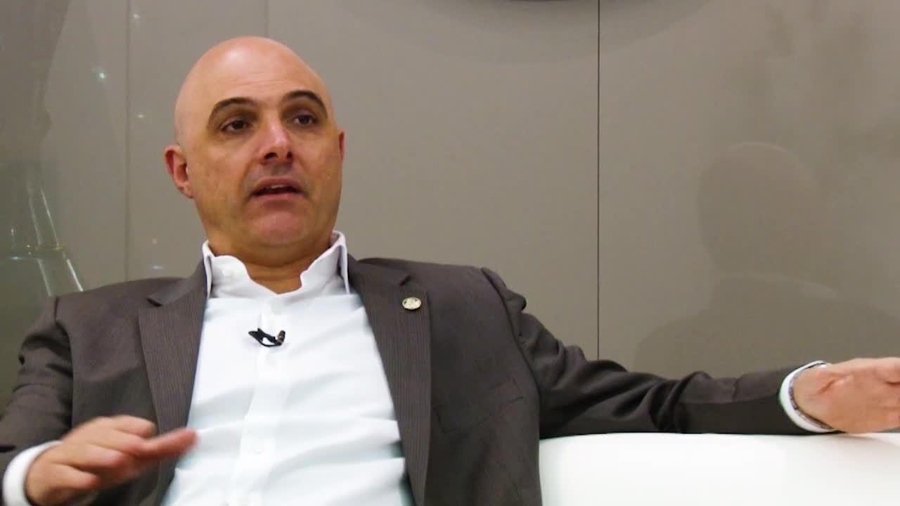 Veja entrevista com Maurício Galiotte, que disputa a reeleição à presidência do Palmeiras