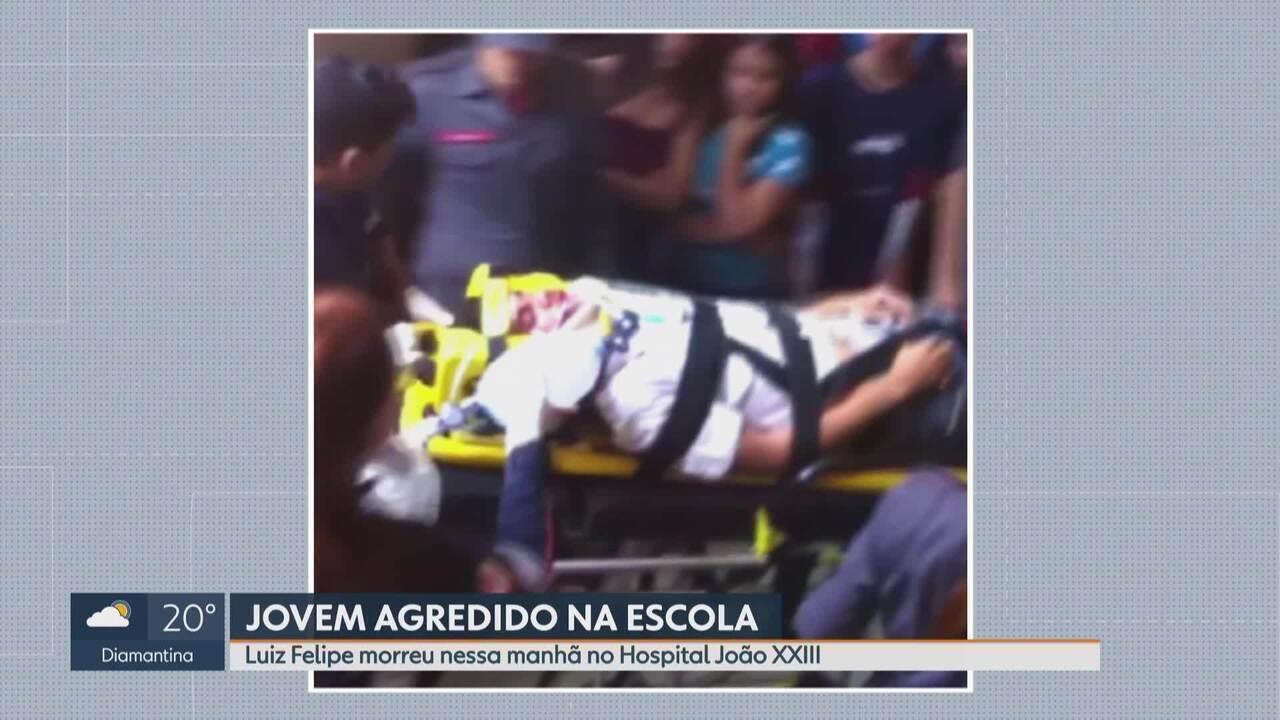 Morre em BH estudante espancado no Instituto de Educação