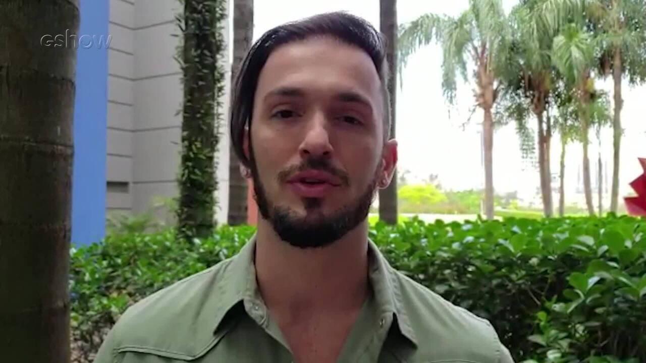 Diego Hypólito falou sobre o plano de disputar a Olimpíada de 2020