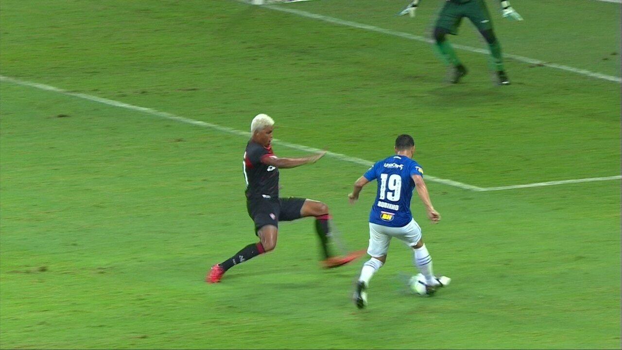 a4265f2448 Melhores momentos  Cruzeiro 3 x 0 Vitória pela 36ª rodada do Brasileirão