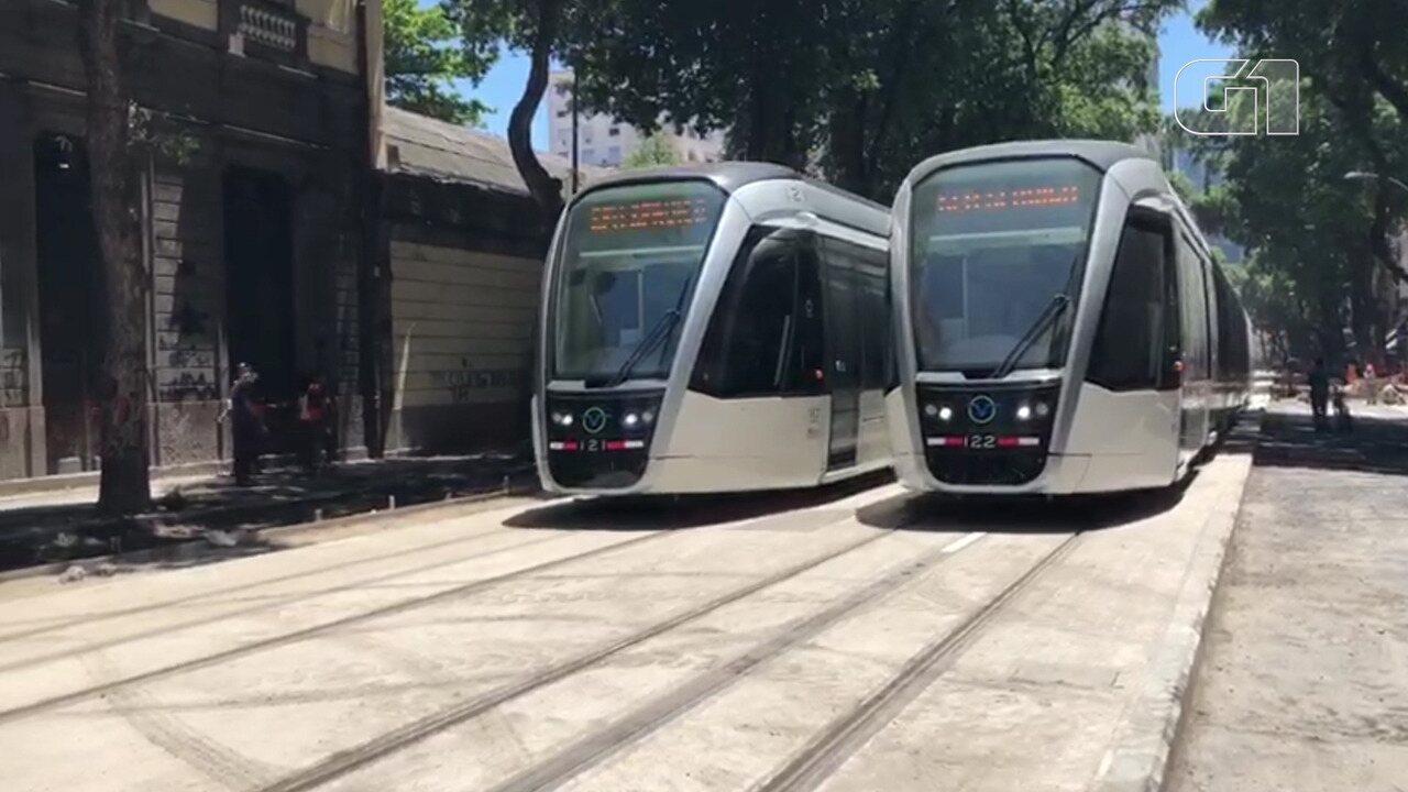 Prefeitura do Rio inicia testes sem passageiros na Linha 3 do VLT