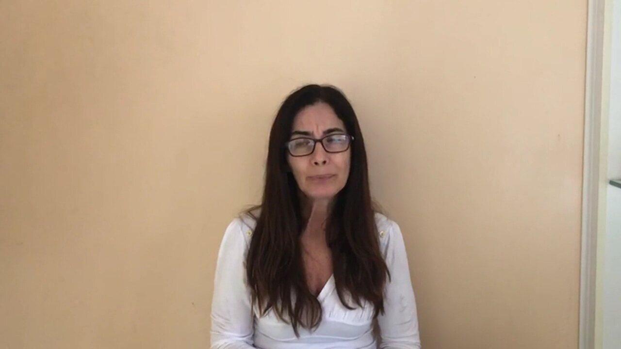 Eliane Corrêa, mãe do jogador Daniel Freitas, pede justiça no caso da morte do filho