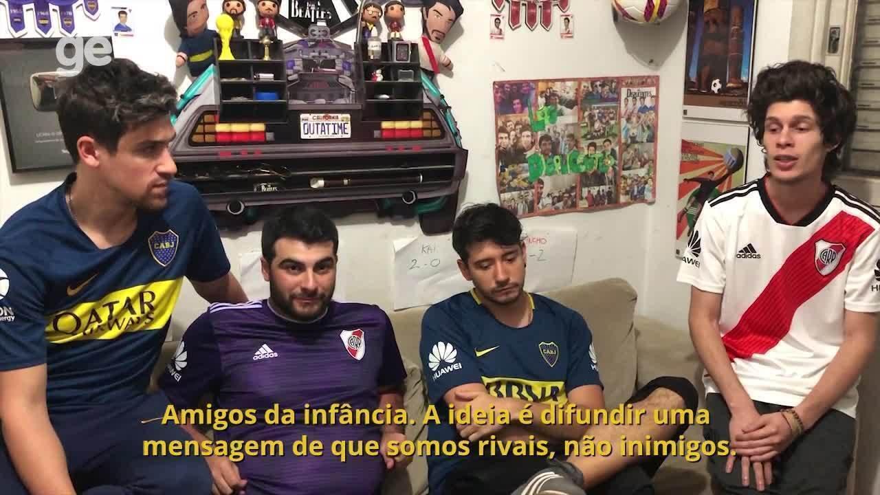 Torcedores do Boca e River, youtubers comentam final da Libertadores e sucesso de canal
