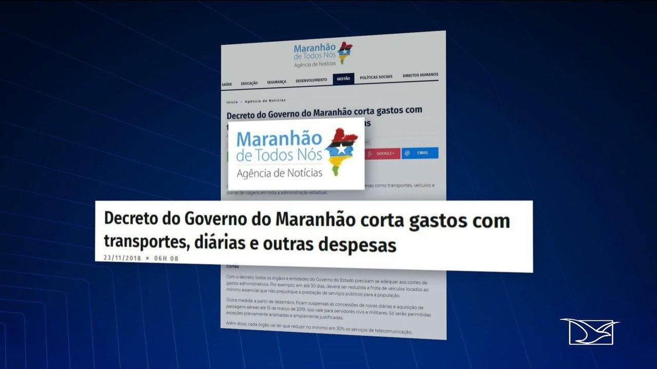 Flávio Dino assina decreto cortando gastos do governo do Maranhão