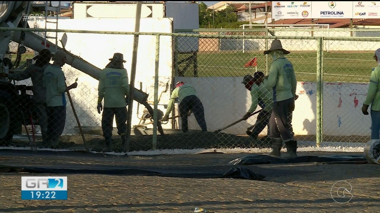 Estádio Paulo de Souza Coelho passa por reforma