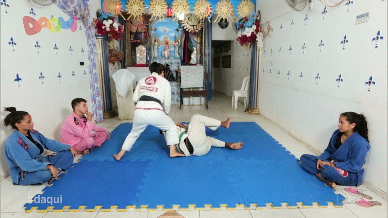 Atleta paraense inicia projeto de jiu jitsu para adolescentes em São Luís
