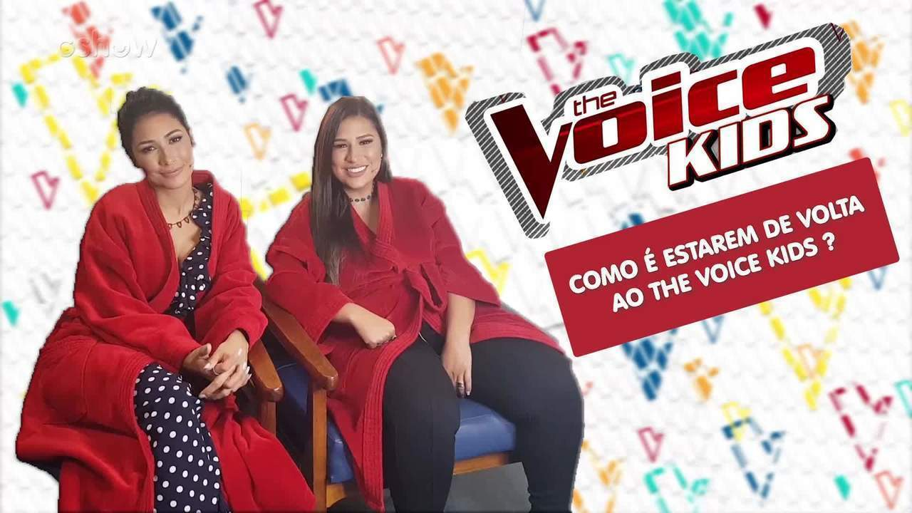 Simone e Simaria começam a gravar nova temporada do The Voice Kids