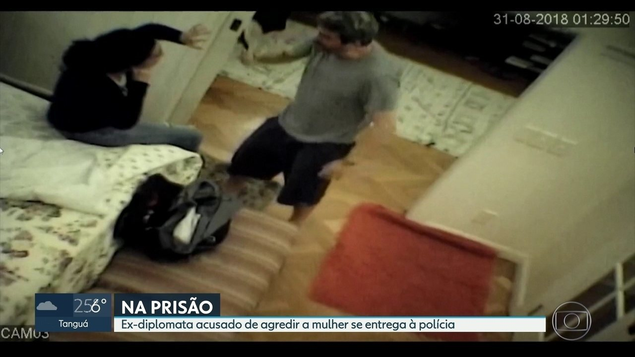 Former diplomat accused of attacking women was transferred to Benfica prison