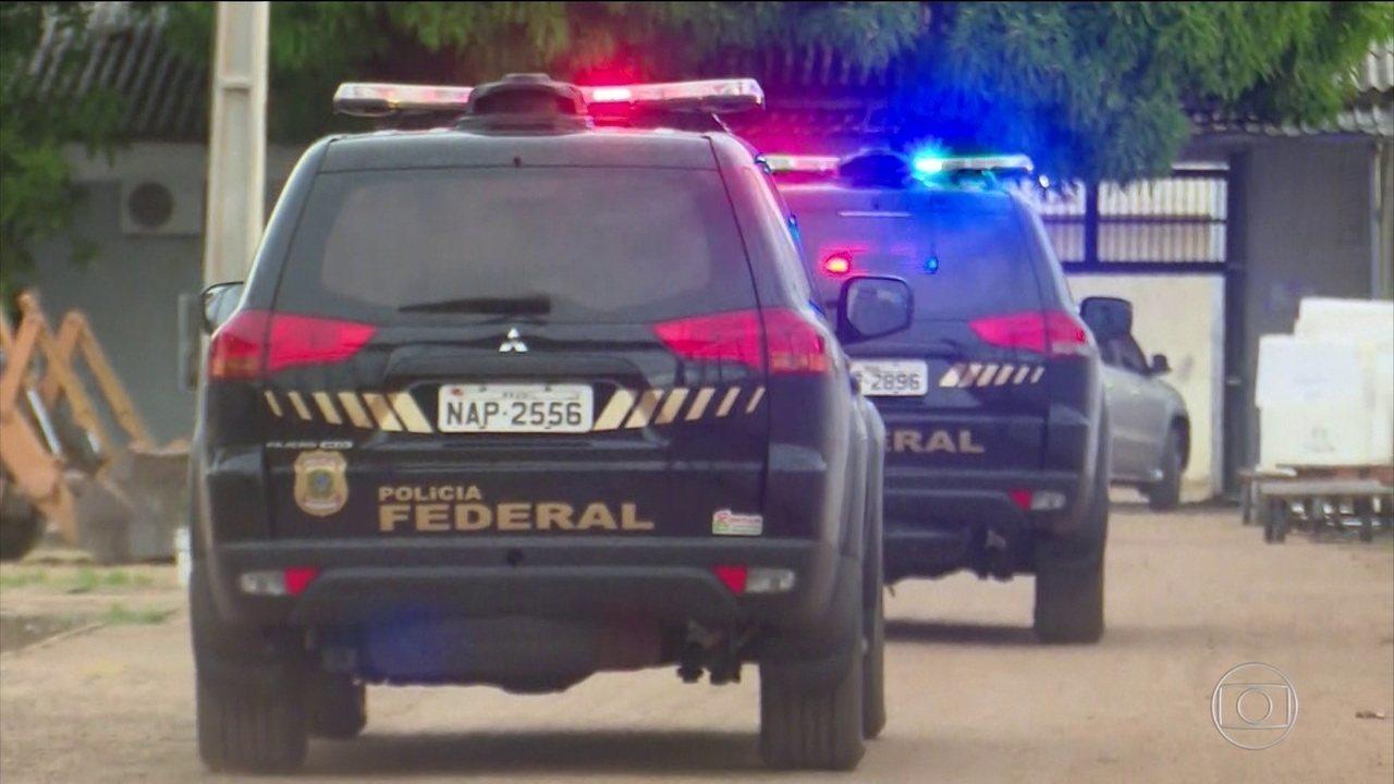 PF faz operação contra o crime organizado em Roraima e no Rio Grande do Norte