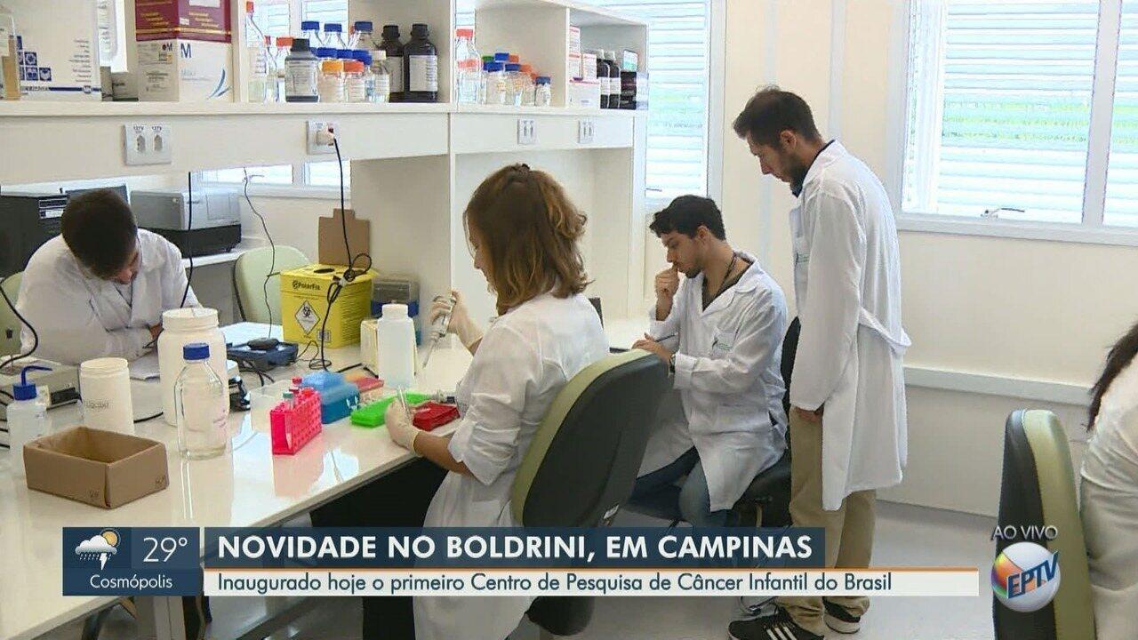 Primeiro Centro de Pesquisa de Câncer Infantil é inaugurado no Boldrini, em Campinas