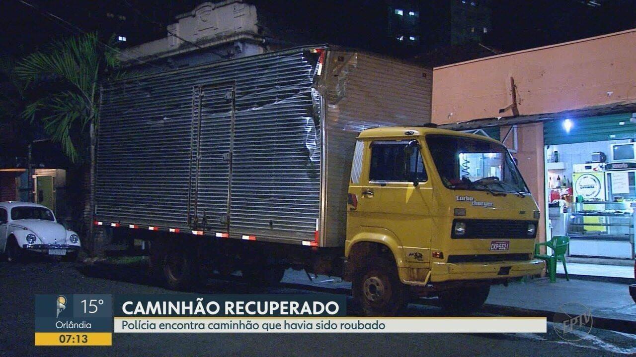 Polícia prende suspeitos de roubar carga de caminhão em Ribeirão Preto, SP