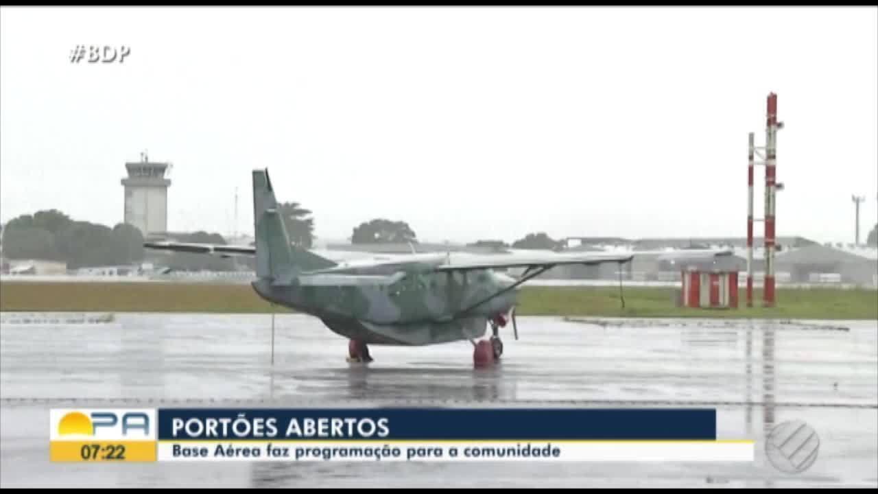 Base Aérea abre as portas para população em evento neste domingo