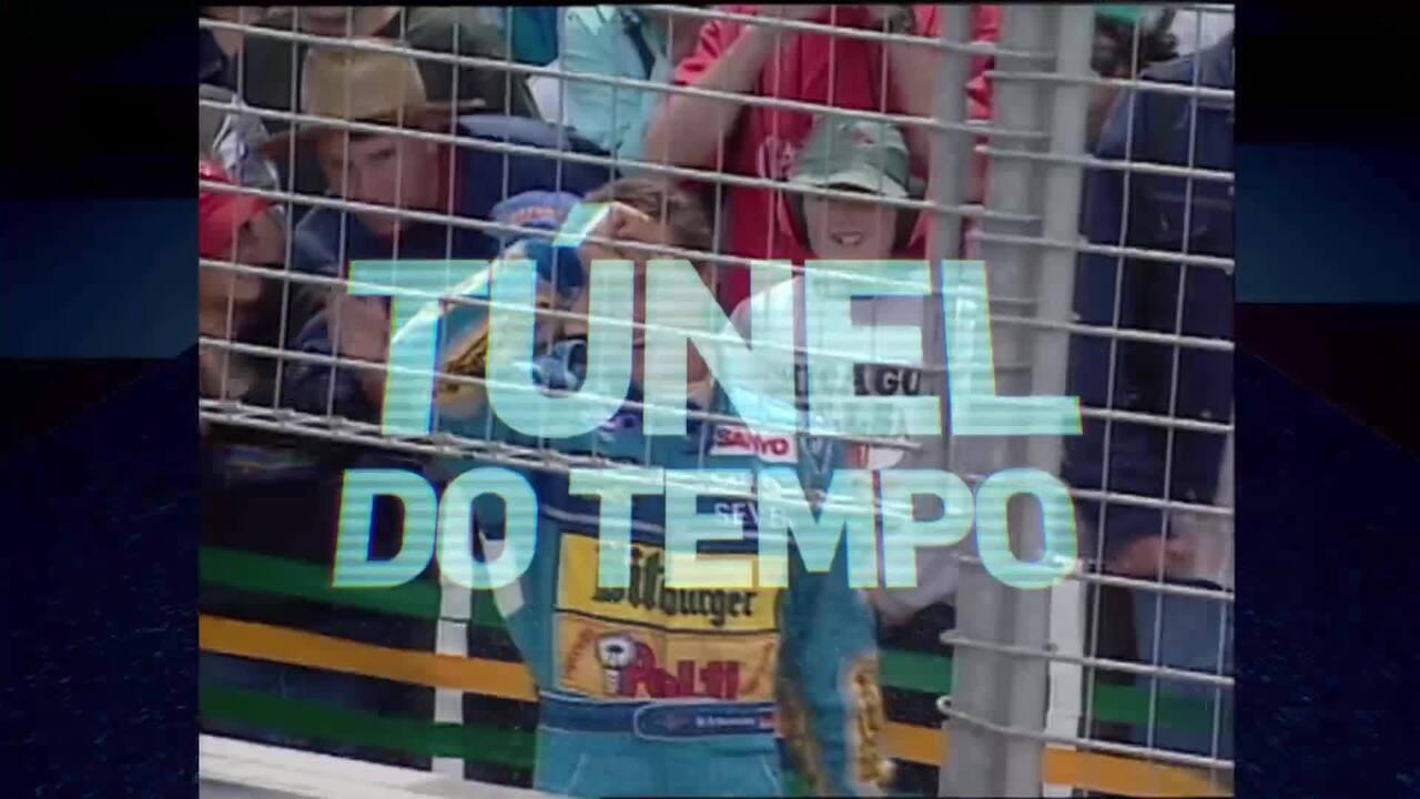 Confira a chamada do Túnel do Tempo da Fórmula 1 no SporTV