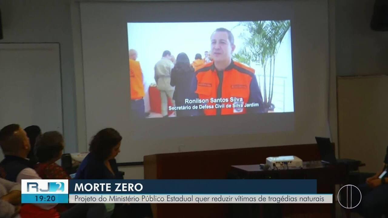 Projeto do MPRJ quer reduzir vítimas de tragédias naturais em Petrópolis, no RJ