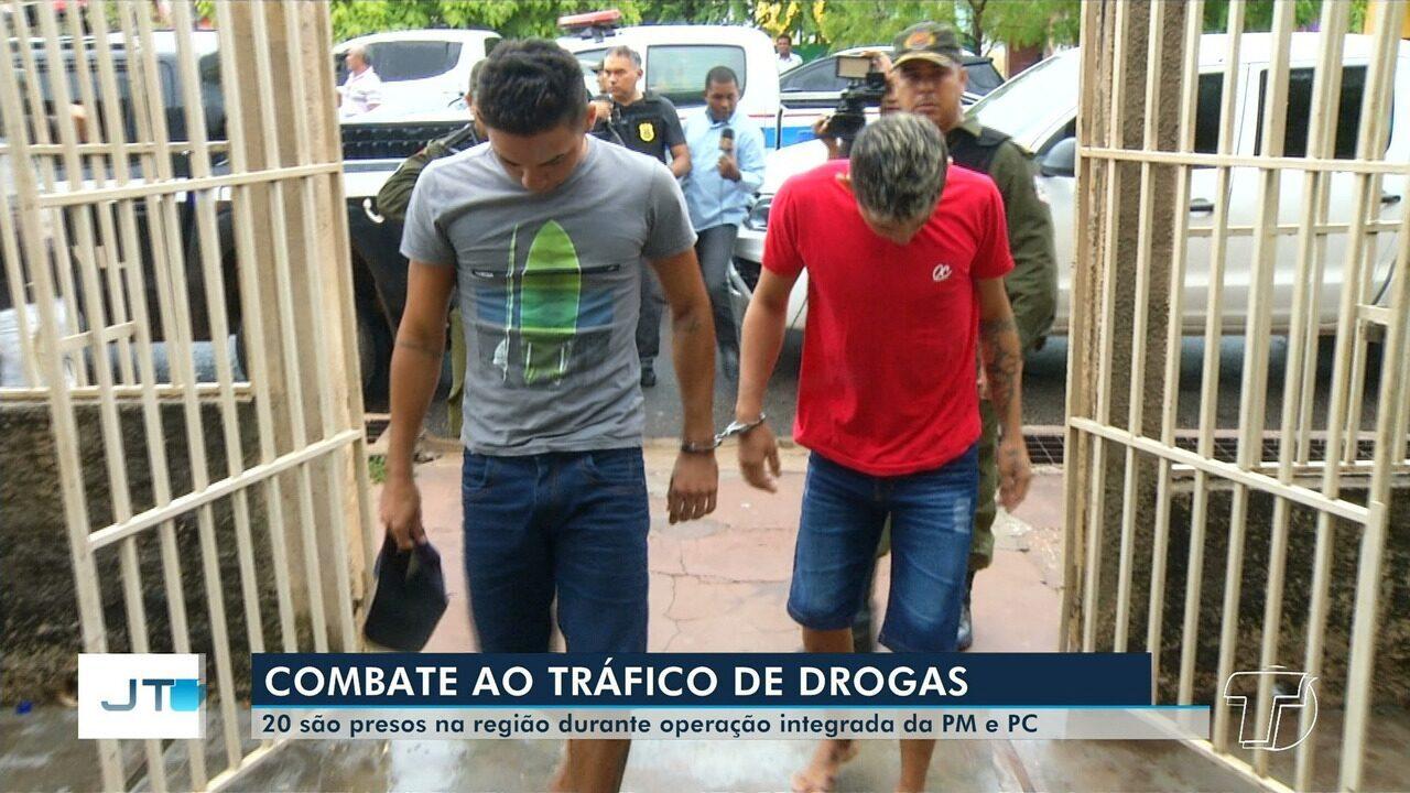 Operação de combate ao tráfico de drogas prende 20 pessoas no oeste do Pará