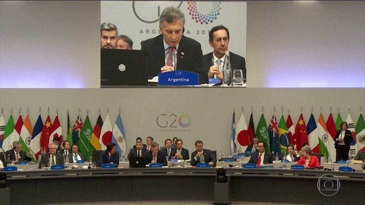 Encontro do G20 termina com acordo sobre comércio global e meio ambiente