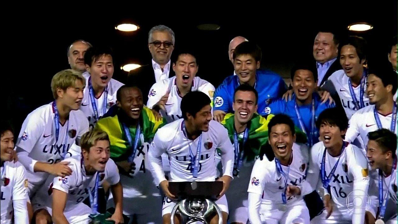 Com brasileiros no time, Kashima Antlers conquista a Liga dos Campeões da Ásia
